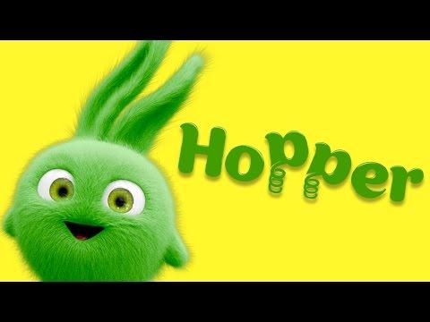 Cartoon | Sunny Bunnies - Meet the Bunnies - Hopper! 💚 Cartoons for Children