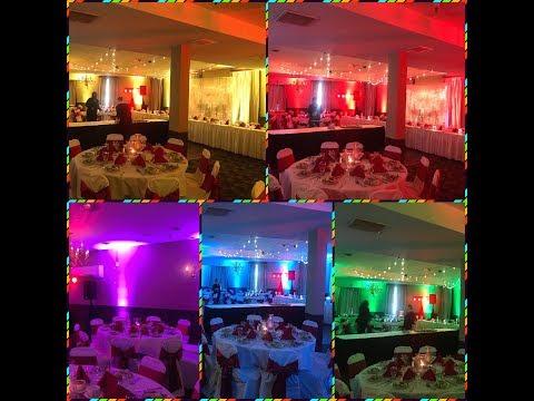 диджей на праздник - световое шоу оформление зала