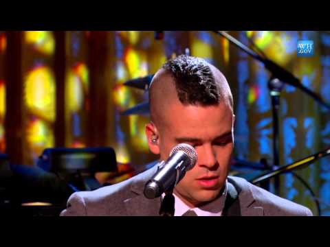 Mark Salling at The Motown Sound: In Performance at the White House