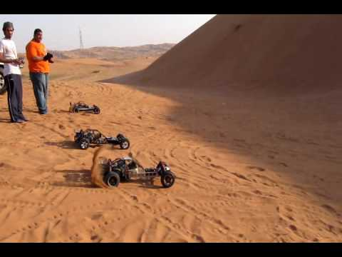 hpi Baja hill Racing in RAK. the perfect dunes for fun