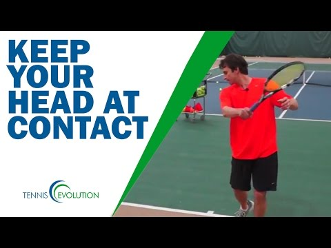 TENNIS TIP | Secret Tip To Help Every Tennis Stroke