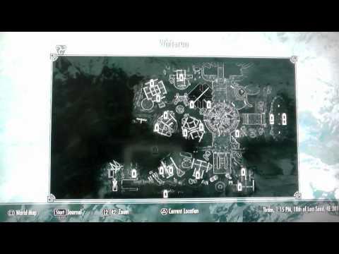 Skyrim - Flame Atronach Spell book Location