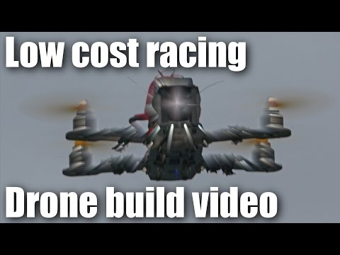 Low cost miniquad racing drone build video PART 1