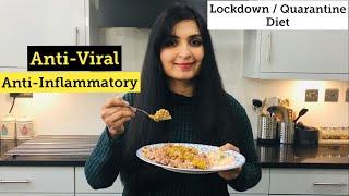 My Anti-Viral, Anti-Inflammatory Lunch / Quarantine, Lockdown diet
