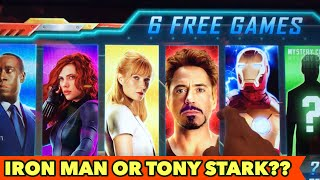 ⭐️NEW IRON MAN SLOT⭐️ TONY STARK OR IRON?? $3 BET Bonus Games and More other Slots