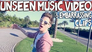 UNSEEN MUSIC VIDEO & EMBARRASSING CLIPS | RICKY DILLON