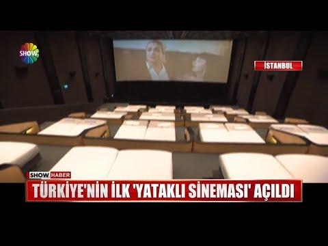 Türkiye'nin ilk yataklı sineması açıldı