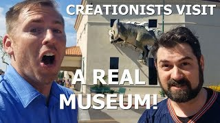 Creationists Visit A Natural History Museum