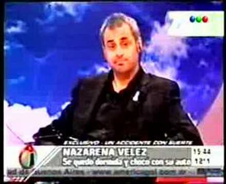 ZAPPING - Accidentes de famosas 31-01-08 Video