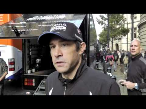 Interview with Julian Dean at Stage 8 of the tour Of Britain 2011