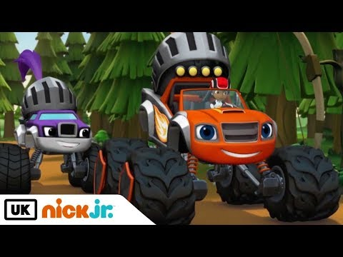 Blaze and the Monster Machines | Sing Along: Potential Energy | Nick Jr. UK