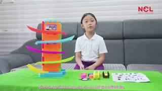 Đồ Chơi Trẻ Em Xe Đua Trượt Đường Ray K7