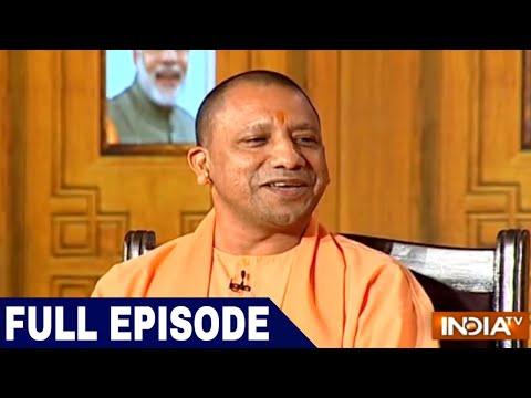 UP CM Yogi Adityanath in Aap Ki Adalat (2018) | Samvaad on 1 Year of Uttar Pradesh Govt
