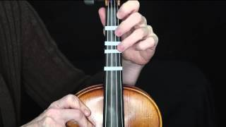 Silent Night (Violin Fingerings Close Up)