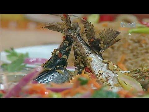 صينيه سمك مكاريل - سمك بلطي مقلي الشيف #نونا من برنامج #البلدى_يوكل #فوود
