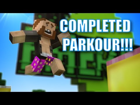 Completed Emerald Isle's Parkour!!! video