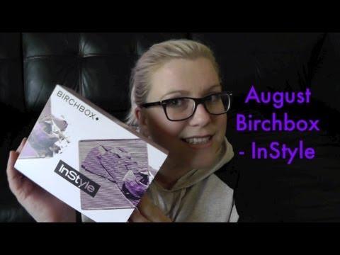 What's In My Birchbox – August 2013 UK   InStyle   Summer Nights