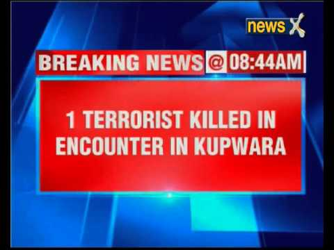 One terrorist killed in Kupwara gun-battle, combing operation underway