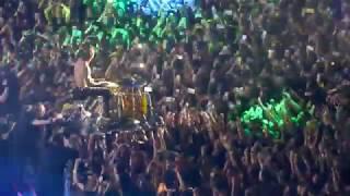 Twenty One Pilots 'Morph' Josh Drums in Audience the Bandito Tour on 11-10-2018 Forum LA CA