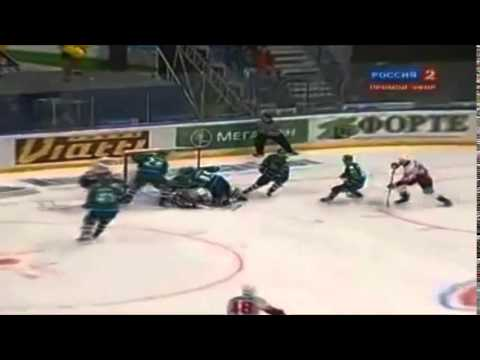 КХЛ 2010/11.Салават Юлаев - Металлург МГ 6:5ОТ