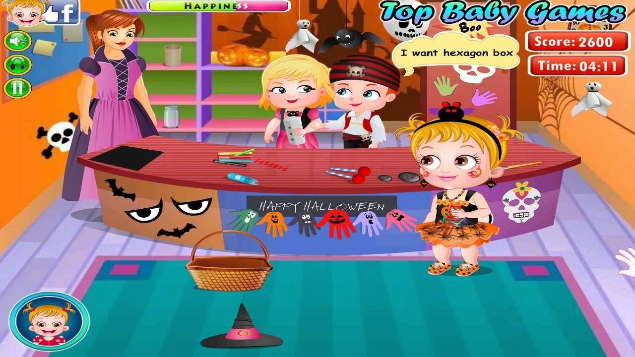 Baby Hazel Halloween Crafts-baby games movie-baby hazel ...