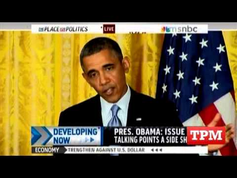 Obama: Debate Over Benghazi Talking Points A 'Side Show'