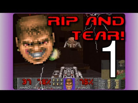 Brutal Doom [Doom II] Cooperative Gameplay Commentary (01)