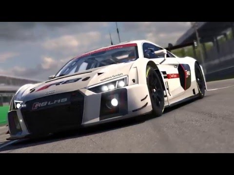 The Audi R8 LMS. Now on iRacing.