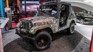 Mahindra Roxbox Concept and Roxor: Detroit 2019 Slideshow