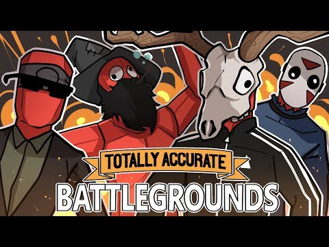 TABS + FORTNITE = AMAZING! | Totally Accurate Battlegrounds (w H2O Delirious, Ohm, & Squirrel)