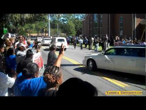 Troy Davis Powerful Homegoing Event