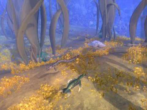 Spore Galacitc Adventures Undersea adventure.