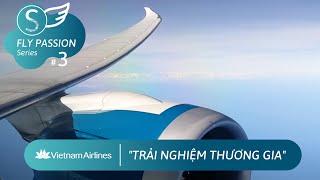 (BUSINESS Class) Flight VN249 I HA NOI ✈ HO CHI MINH I Vietnam Airlines I Boeing 787 Dreamliner