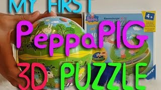 My first puzzle 3D Peppa Pig and Sofi  p2