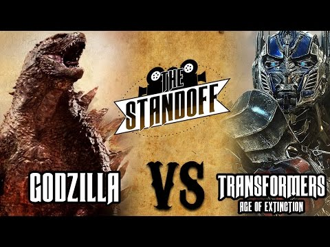 The Standoff - Godzilla vs Transformers: Age of Extinction