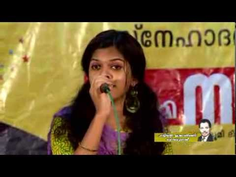 Nimisha Salim (g d Of M.s.baburaj) Singing Kannu Thurakkatha -agniputri video