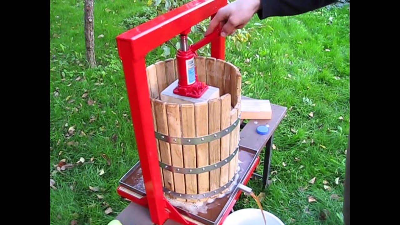 Пресс для сока из яблок своими руками