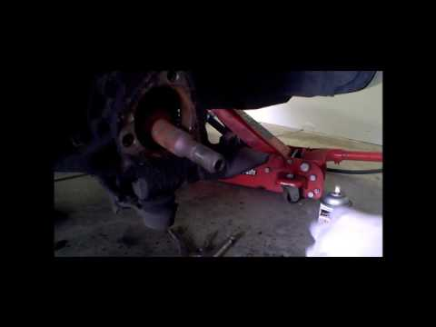 Changing front wheel bearings on a GM (Pontiac Sunfire example)