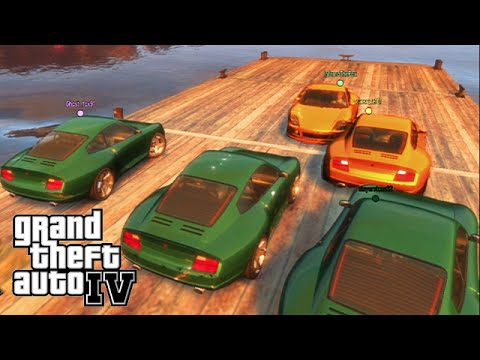 GTA IV - ps3 - NGG Event - King of the Barge/BUSTED!/Deathmatch!!?