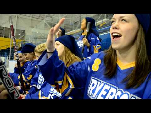 All I Want For Christmas: Ryerson Women's Hockey