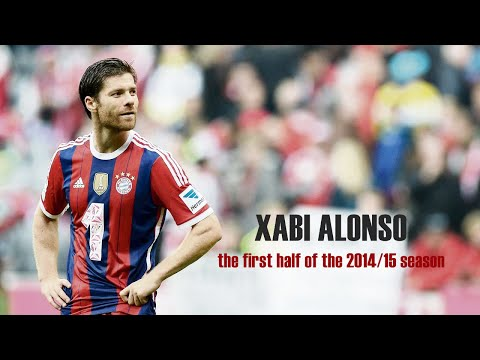 XABI ALONSO : 2014-2015 First Half of Season Highlights [HD]