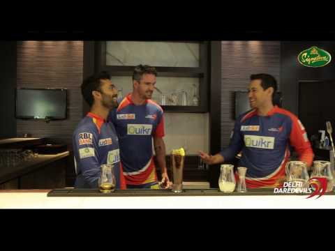 The Making of Devils Dew Cocktail by Kevin Pietersen, Dinesh Karthik and Ross Taylor