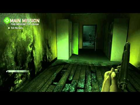 ZombiU Developer Walkthrough Wii U Exclusive (E3 2012)