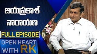 Political Leader Jayaprakash Narayana |  Open Heart With RK | Full Episode