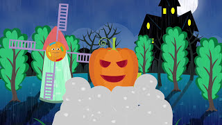 Halloween Surprise Eggs for Learning Colors Part 1 - Animated educational Halloween video for kids