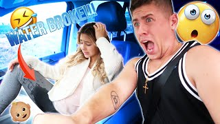 HER WATER BROKE!!?! *MUST SEE!*