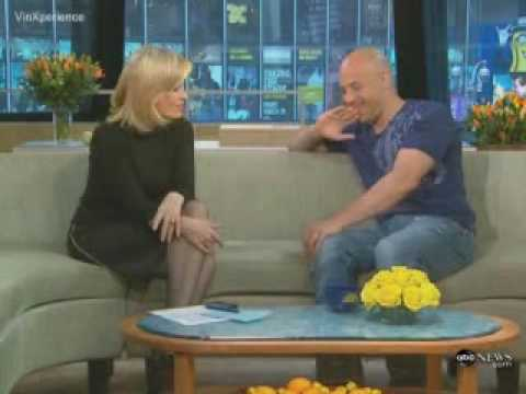 Vin Diesel ABC interview about Fast and Furious and his daughter ABC Music Videos
