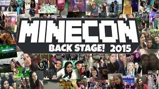 Back Stage At Minecon 2015 London! Vlog 1