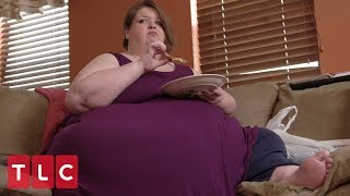 Weighing 625 lbs, Amanda Has Been Living With Cancer for 2 Years   Family By the Ton