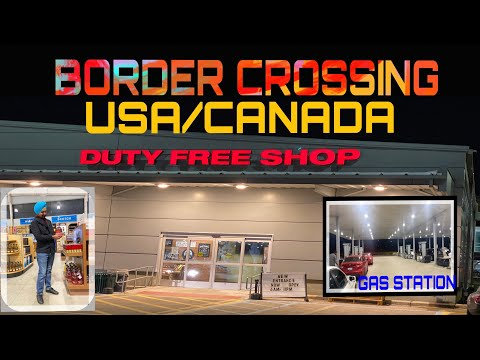 Border Crossing | Duty Free Alcohol | First Vlog | 2019